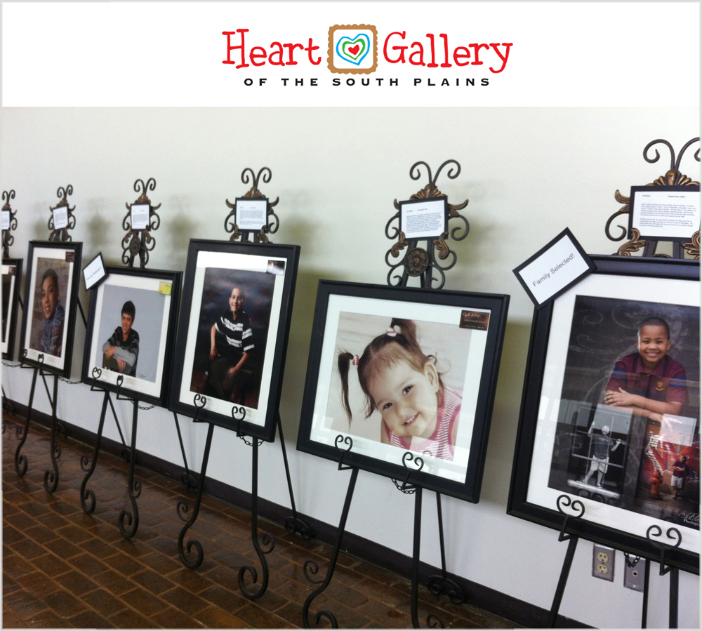 Heart Gallery of the South Plains